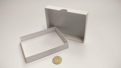 kaartdoosje karton 120x90x20mm bodem-deksel - open zonder scheiding leeg