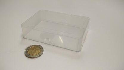 kaartdoos plastic doorzichtig 60x90x20mm - dicht