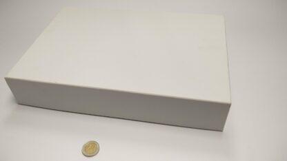 speldoos karton A4 6cm hoogte blanco dicht