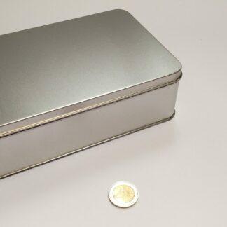 speldoos blik 208x132x60mm bodem-deksel zonder sticker