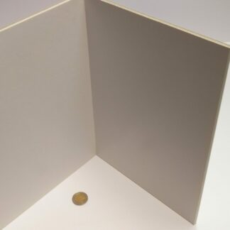 Spelbord kerton A2 blanco wit - opvouwbaar tot A4 formaat