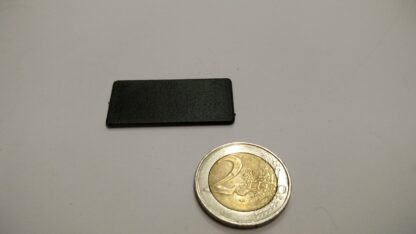 fiche platic rechthoekig 20x40mm