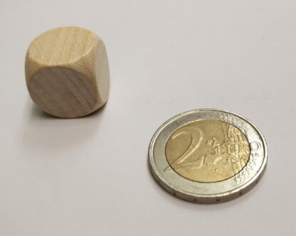 dobbelsteen blanco hout 16mm