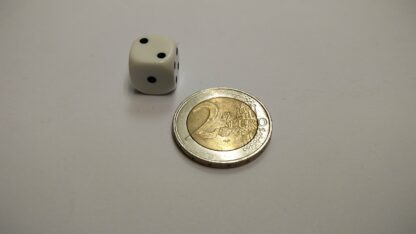 Dobbelsteen 12mm plastic