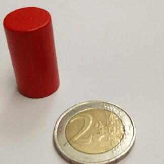 Cylinder hout 15x28mm