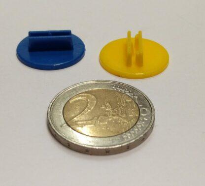 voetje plastic rond 20mm