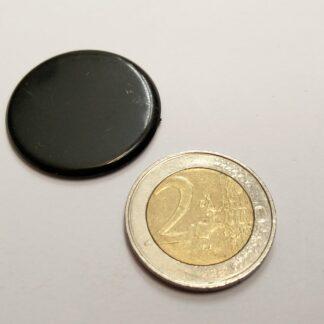fiche rond plastic 29mm