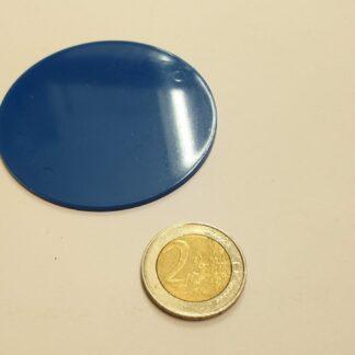 fiche rond plastic 60mm