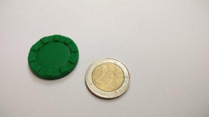 fiche plastic rond 29mm getand