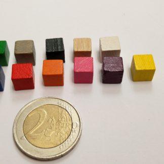 kubus hout 8mm kleuren