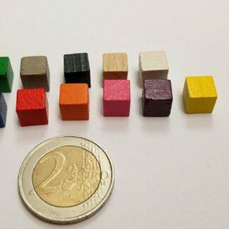 kubus hout 8mm beschikbare kleuren