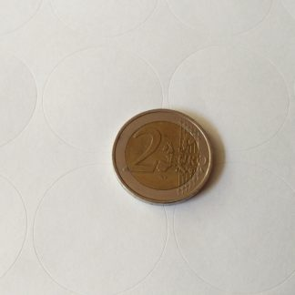 stickervel A4 met ronde stickers 32mm