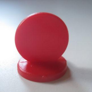 pion plastic rond 15mm